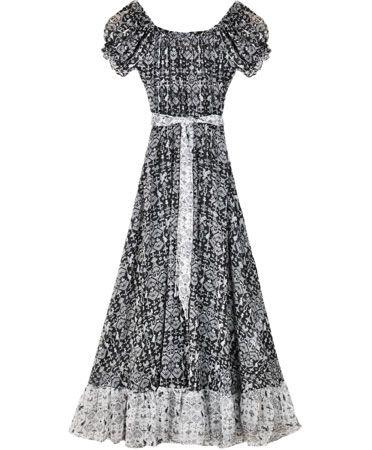 Carolina K Black Rabbits Sophia Dress
