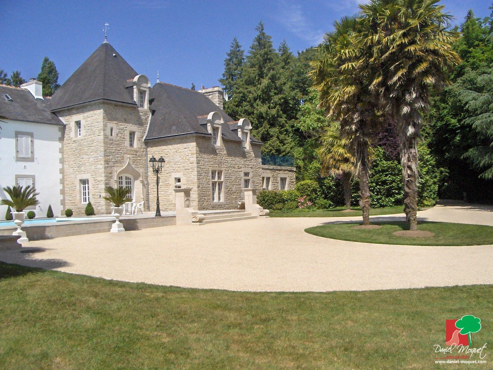 parc d 39 un chateau alv ostar pinterest beton d sactiv enrob et jardin de terrasse. Black Bedroom Furniture Sets. Home Design Ideas