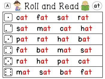 Kindergarten Reading Centers Short Vowels & Word Family Activities MEGA BUNDLE