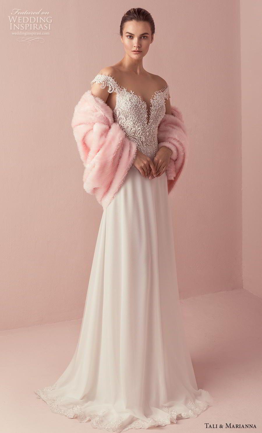 Elegant wedding dresses for mature brides  Tali u Marianna  Wedding Dresses u ucThe Oneud Bridal Collection