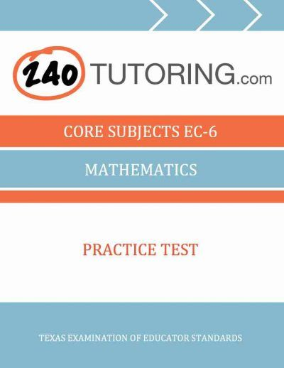 Core subjects ec 6 mathematics practice test teacher certification elementary education all subjects teacher certification practice test for florida fandeluxe Gallery