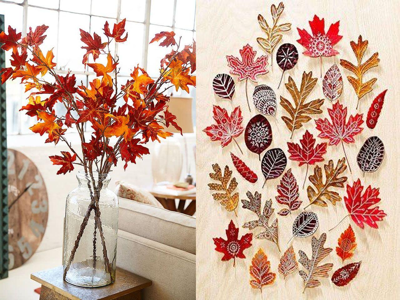 7 encantadoras ideas de decoraci n de oto o para tu hogar decoraci n con plantas pinterest Decoracion otono