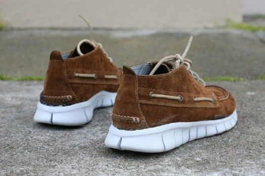 b53037c78de Nike Free 5.0 x Sperry Topsider Chukka Concept by David Whetstone ...