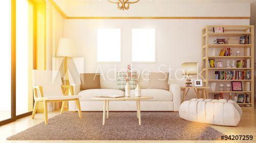 Wohnzimmer mit Bilderrahmen an Wand sofas Pinterest