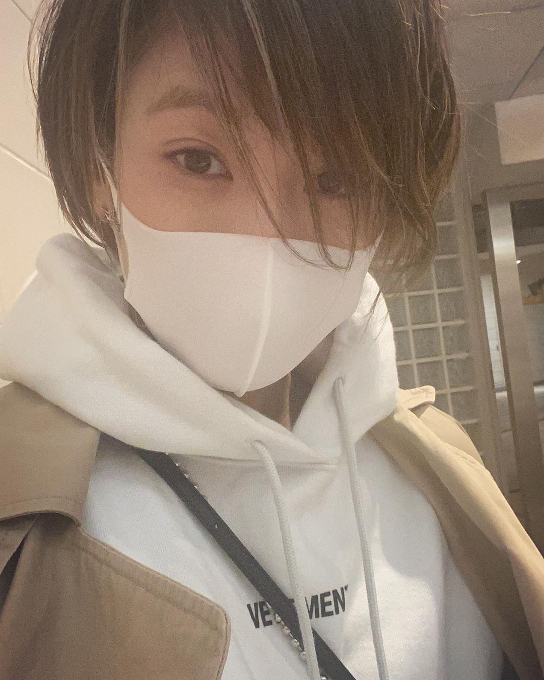 西山茉希 今年の目標は マスクをなるべく顎でしないこと そして