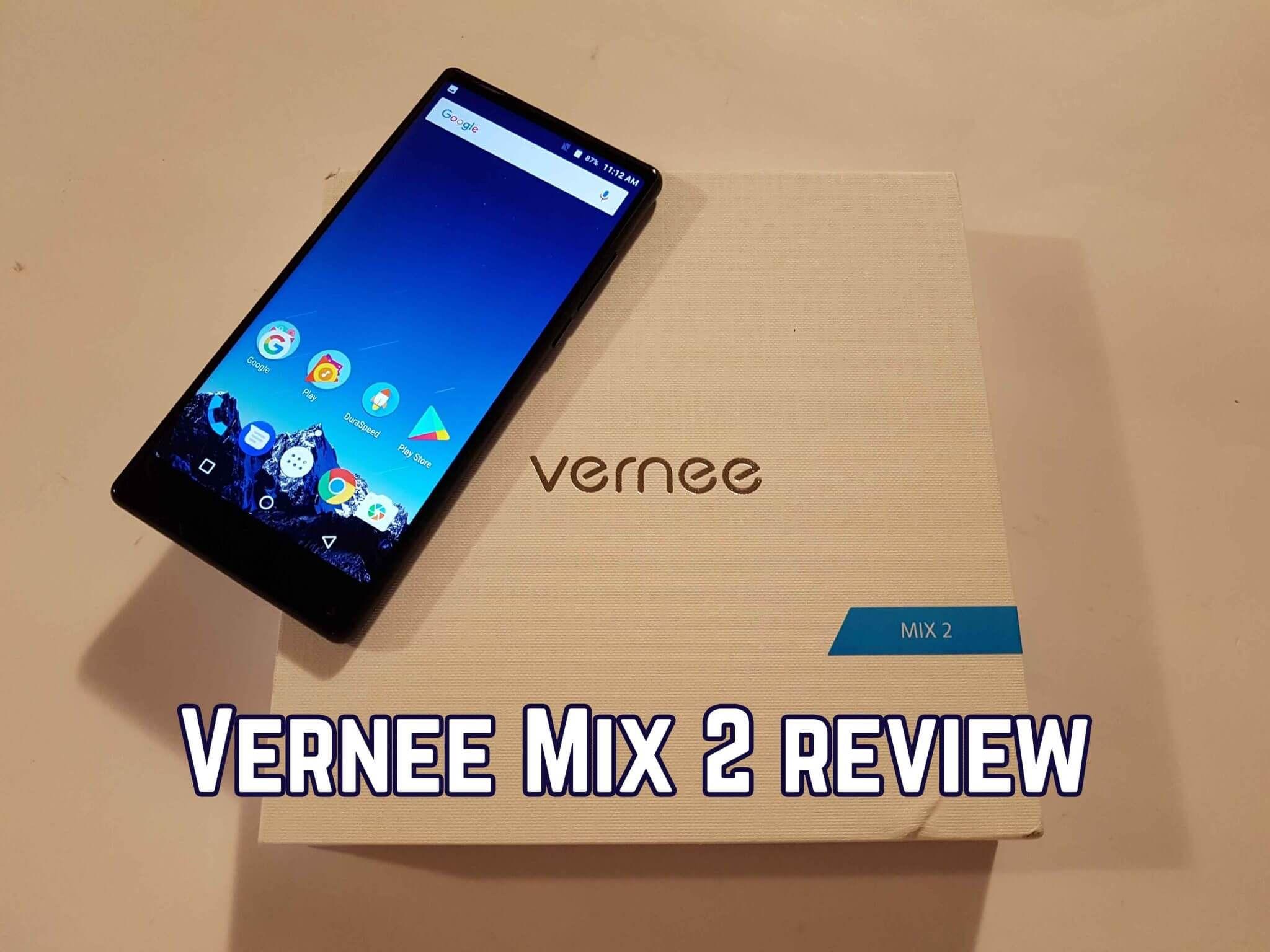 Recensione Vernee Mix 2 – Miglior Bud Phone
