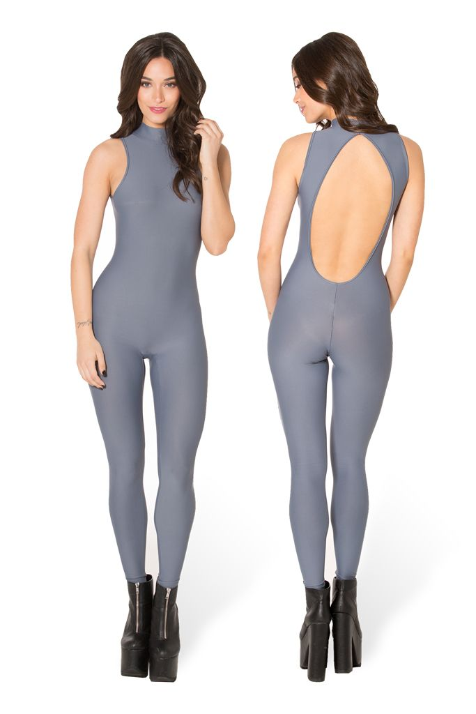 Funk Catsuit grey x4xmo