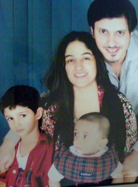 Nadia Jamil With Her Family