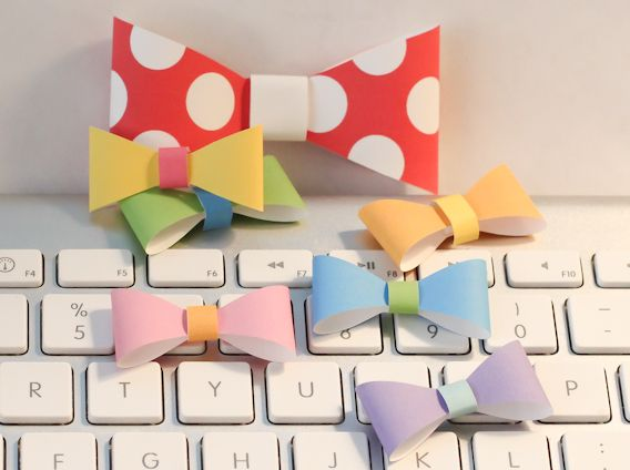 bow ties templates creative packaging Pinterest Paper bows - bow template