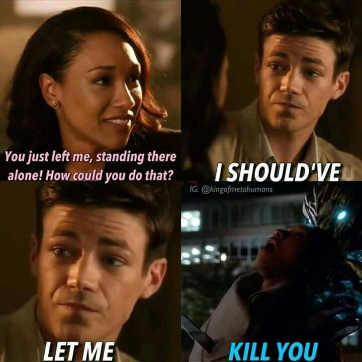 It's basically agreed In the entire flash fandom that iris said some
