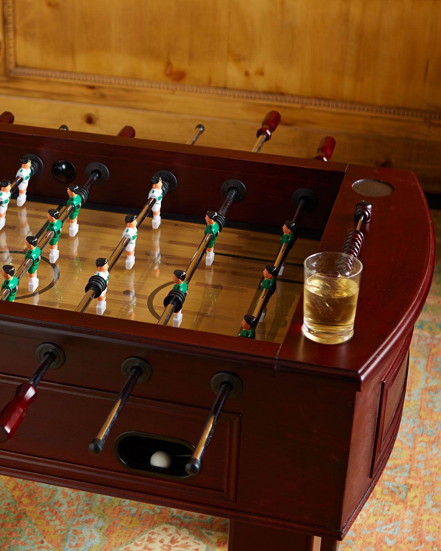 Huntley Foosball Table With Images Foosball Table