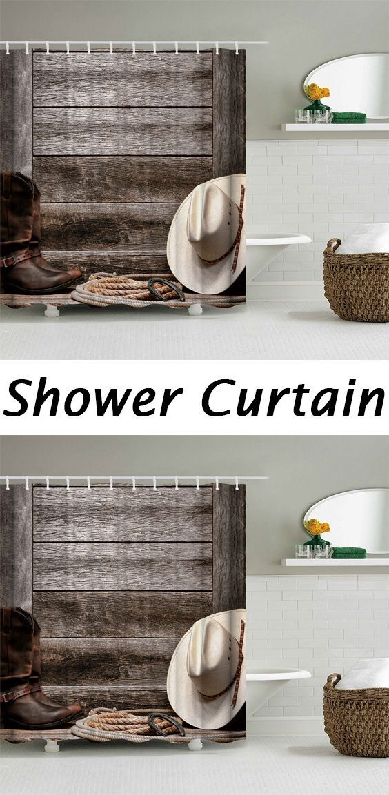 West Cowboy Accessories Bathroom Shower Curtain Decorative Items Country Decor And Room
