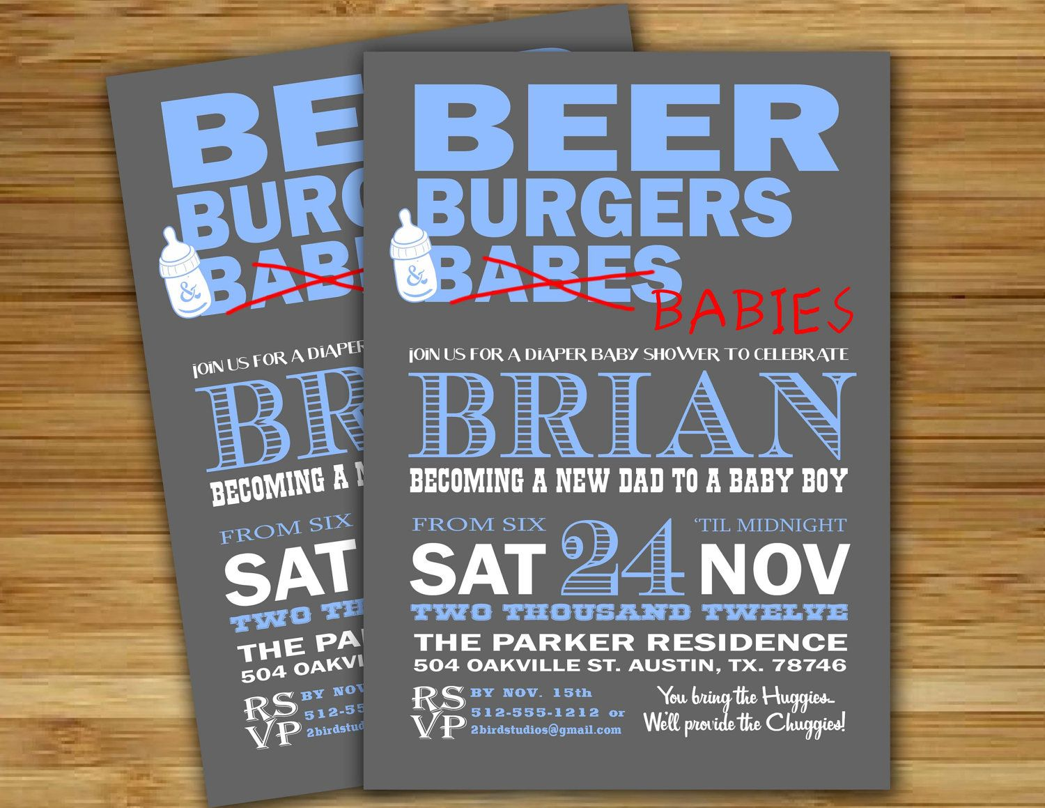 diaper shower invitation for dad to be beer burgers and babies printable invitation diy baby shower