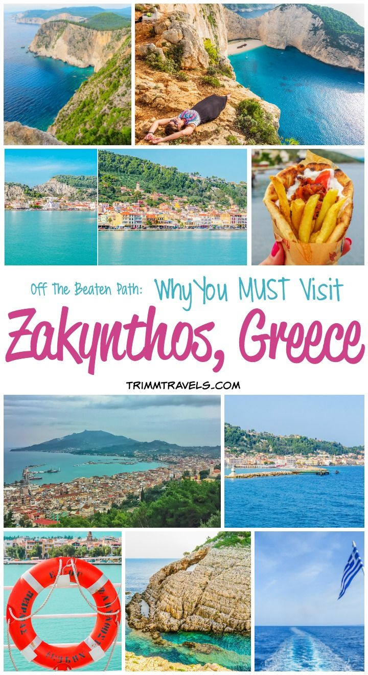 Off the Beaten Path: Why You Must Visit Zakynthos Greece #visitgreece