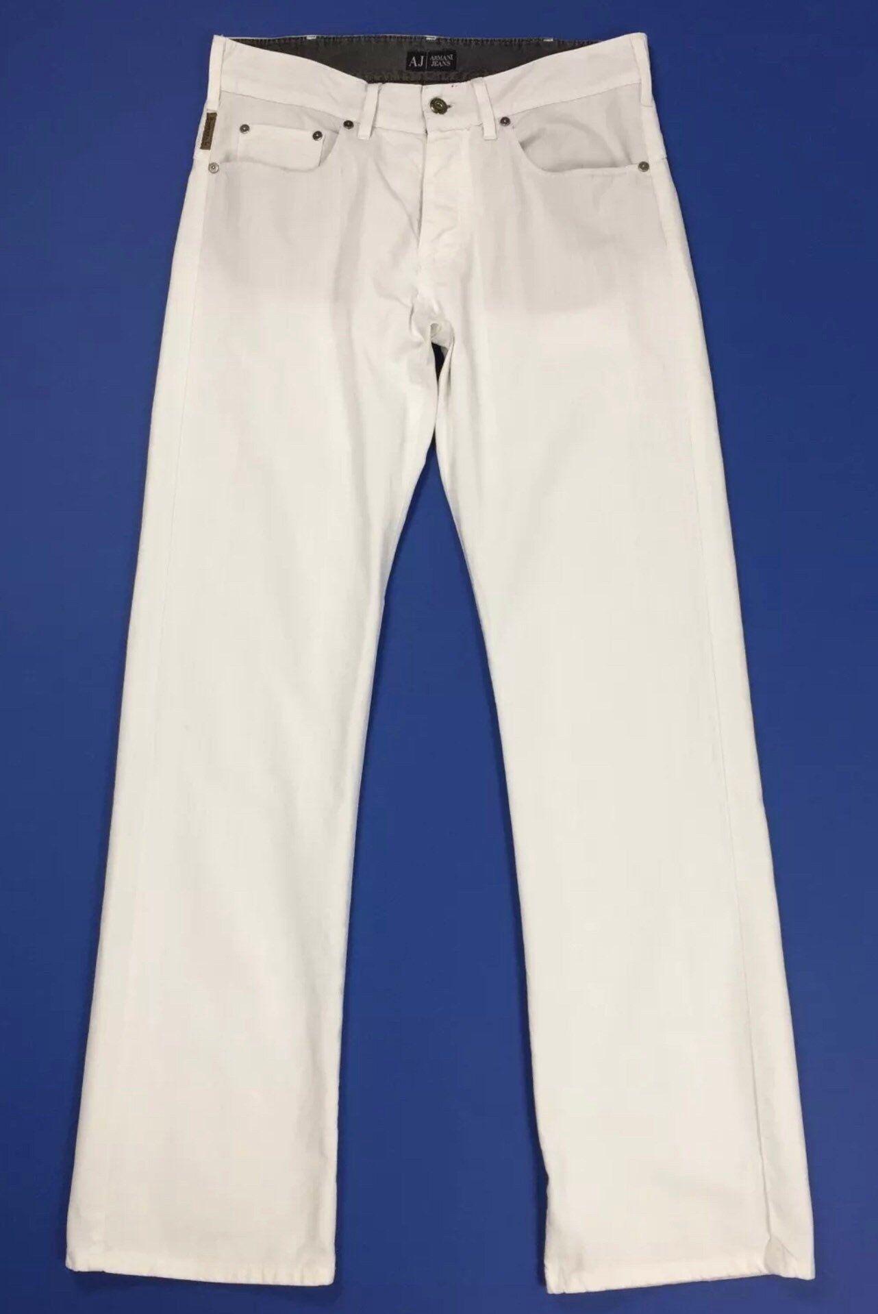 premium selection 7e32d 8d7f4 Miu miu pantalone uomo usato W34 tg 48 grigio riga straight ...
