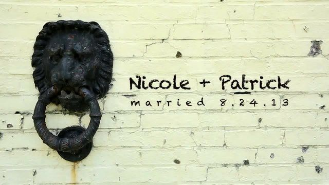 Nicole + Patrick | 2013 Wedding Video