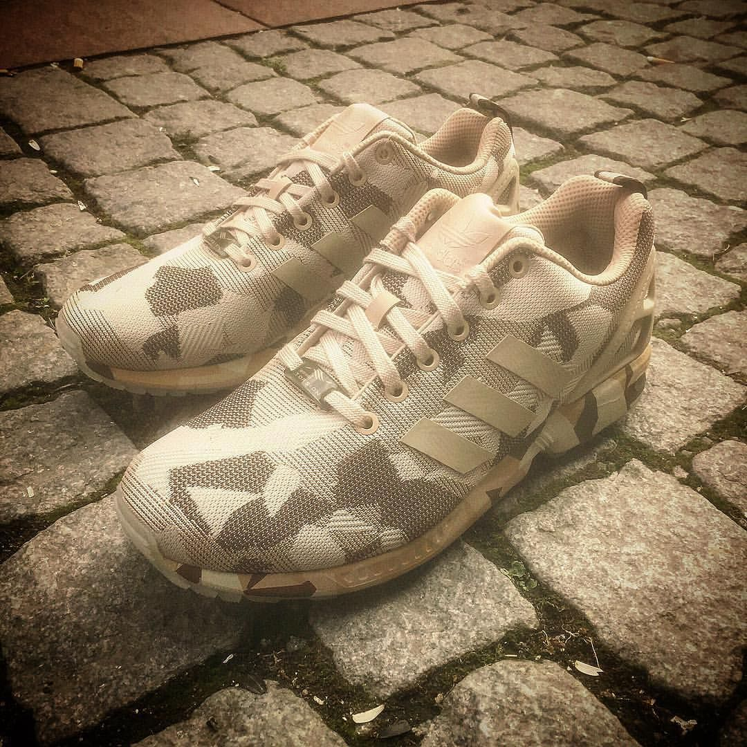 Adidas Zx Flux Camo Brown