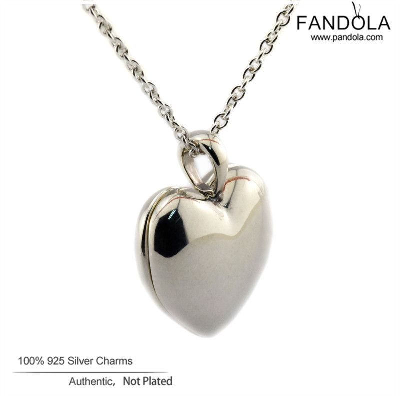 100 925 sterling silver jewelry charm pendant love locket necklaces 100 925 sterling silver jewelry charm pendant love locket necklaces pendants for women original aloadofball Images