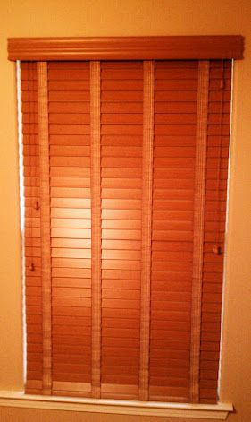 Faux Wood Blinds With Cloth Tape Option And Stately