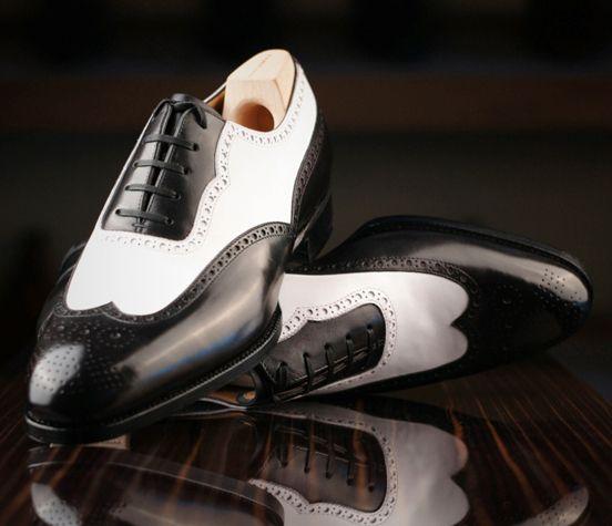 """new product 21eec ccde4 Los zapatos """"Spectators""""  El espectacular calzado, para hombre, bicolor"""