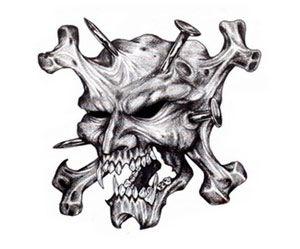 Tattoo Designs 100 Skulls Tattoo Designs Skull Tattoo Design Skull Drawing Skull Sleeve