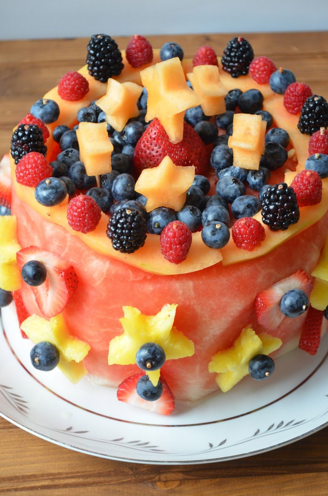 The Savvy Kitchen Raw Fruit Cake For My Birthday