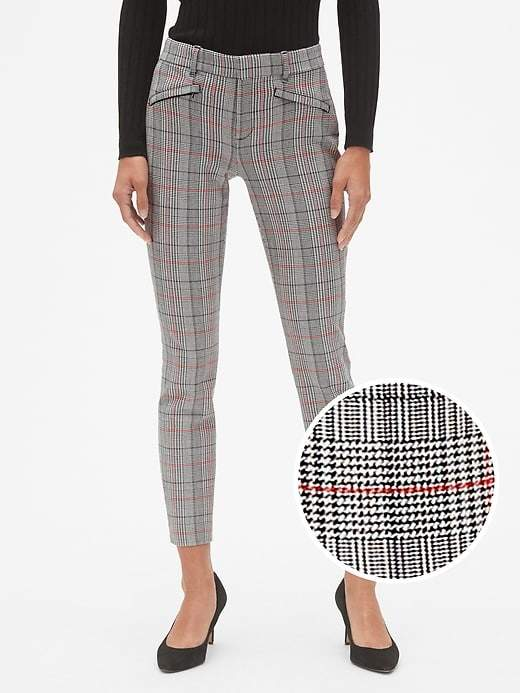 669a59af26706 Plaid Skinny Ankle Pants in 2019 | Products | Plaid pants, Pants ...