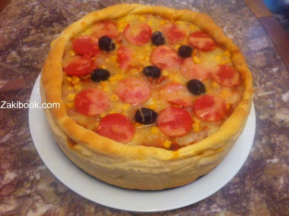 بيتزا كيك الطعم غراااااام زاكي Sweet Pastries Best Dishes Food