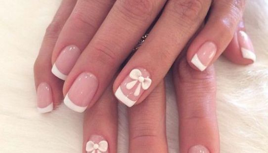 11 Trendy Easy Nail Art Ideas Pinterest Bow Nail Designs And