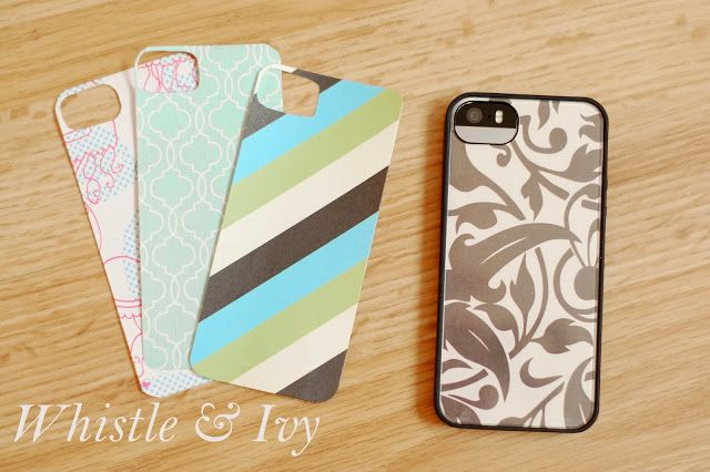 easy custom iphone 5 5s 5c case by whistle ivy on diy sunday