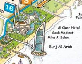 Dubai Tourist Map | Dubai City Tour | Big Bus Tours | 10 Reference on
