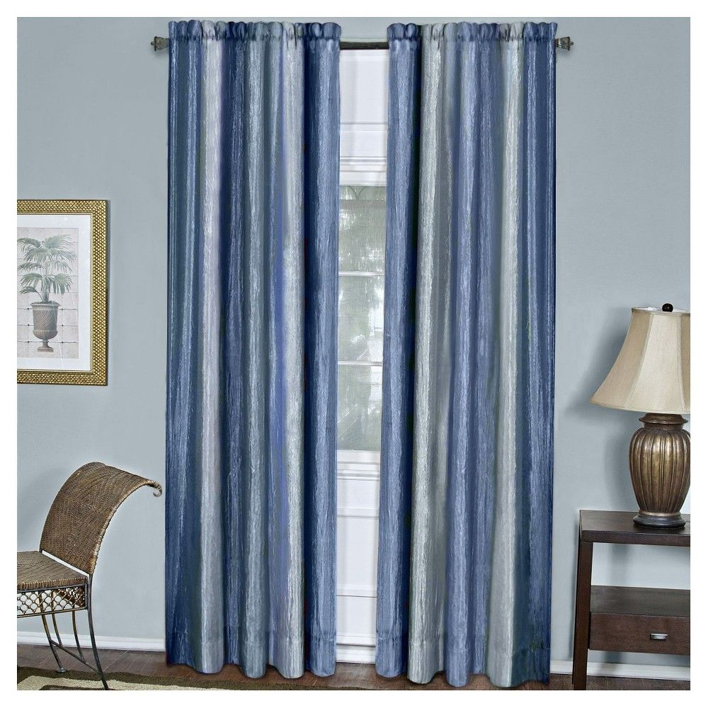 Ombre Window Curtain Panel Earth (50\
