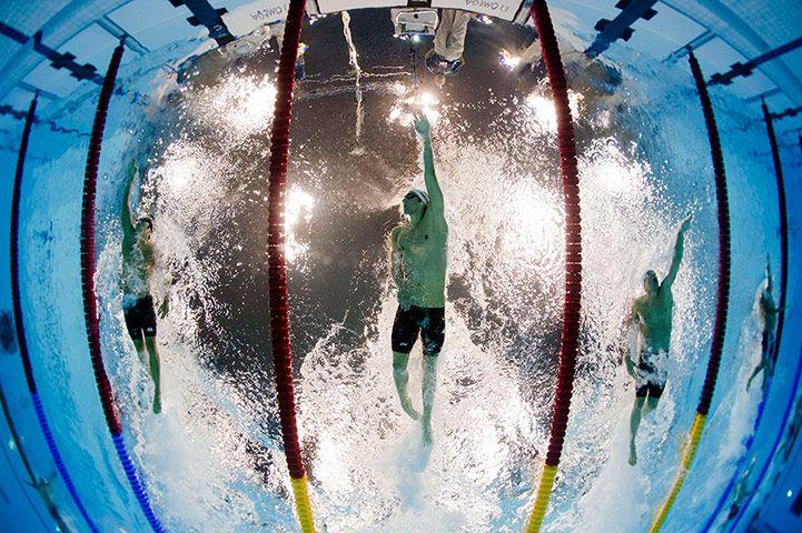 Olympic Swimming Underwater