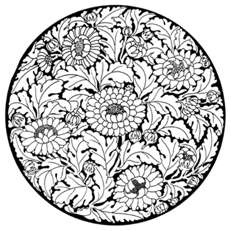 ausmalbilder mandala für erwachsene 09 …   Pinteres…