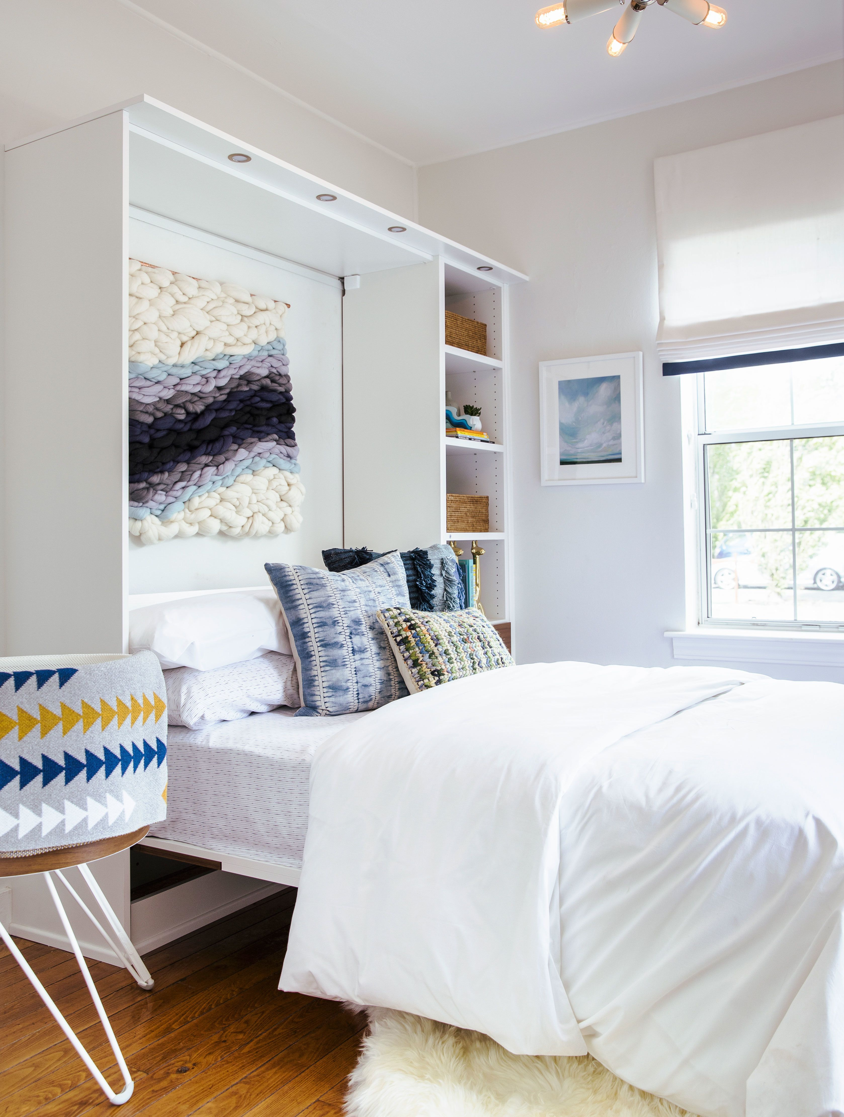 How to Design a Wine Country Cottage Modern murphy beds
