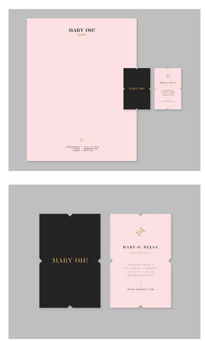 Mary oh branding fivestar branding design and for Fashion design agency