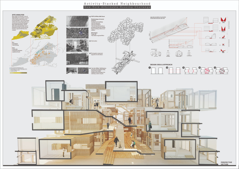 New York Affordable Housing Challenge Competition Winners Affordable Housing Affordable House Plans Modular Units Architecture