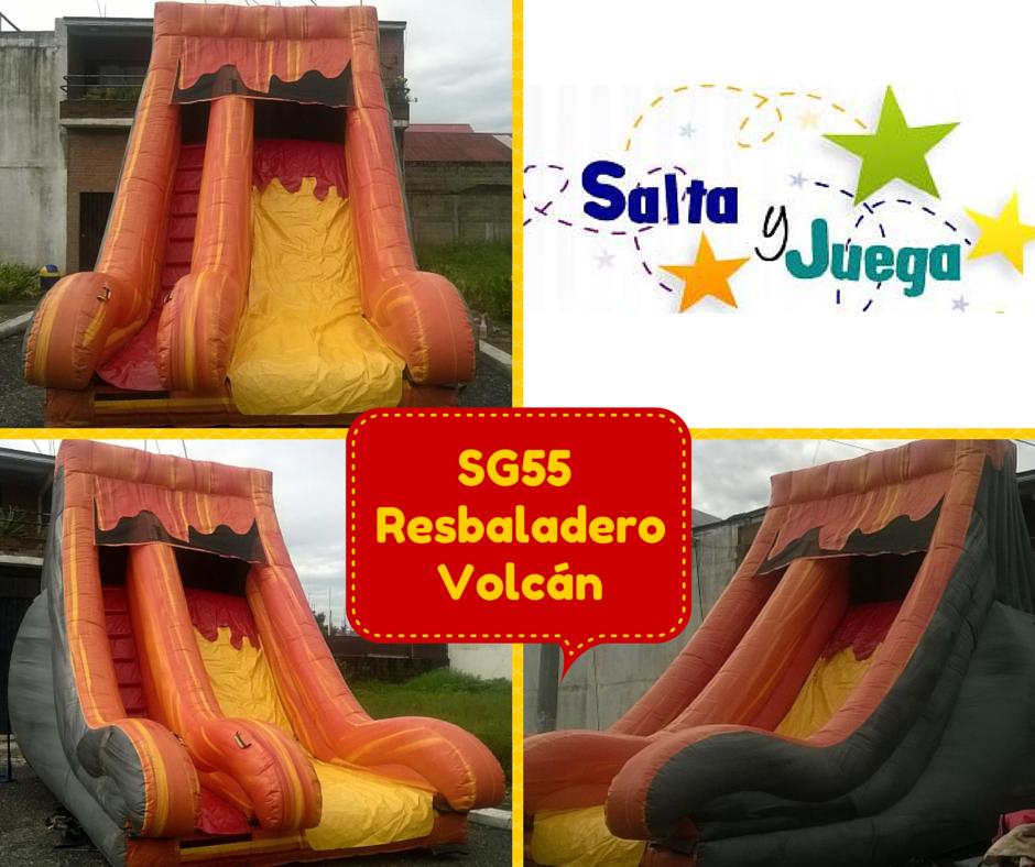 Resbaladero de volcán. Información Salta y Juega (502) 57970571, saltayjuega@gmail.com