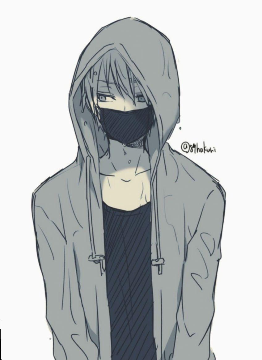 18 anime guys drawing hoodie cute anime guys anime boy