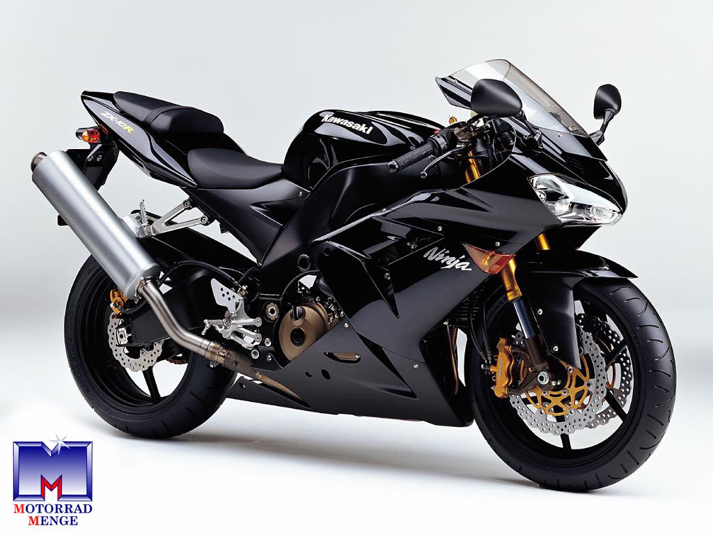 Kawasaki Ninja ZX 10R Schwarz