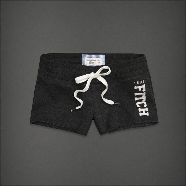 Abercrombie & Fitch Taylor (30 BRL) ❤ liked on Polyvore featuring shorts, bottoms, short, abercrombie & fitch, cut off shorts, cotton drawstring shorts, drawstring shorts, short shorts and cut off short shorts
