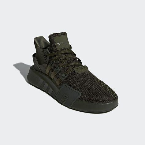 big sale 1a8cb eb9e7 AC8710 adidas EQT Bask ADV Triple Black Streetwear Shoes, White Sneakers,  Shoes Sneakers,