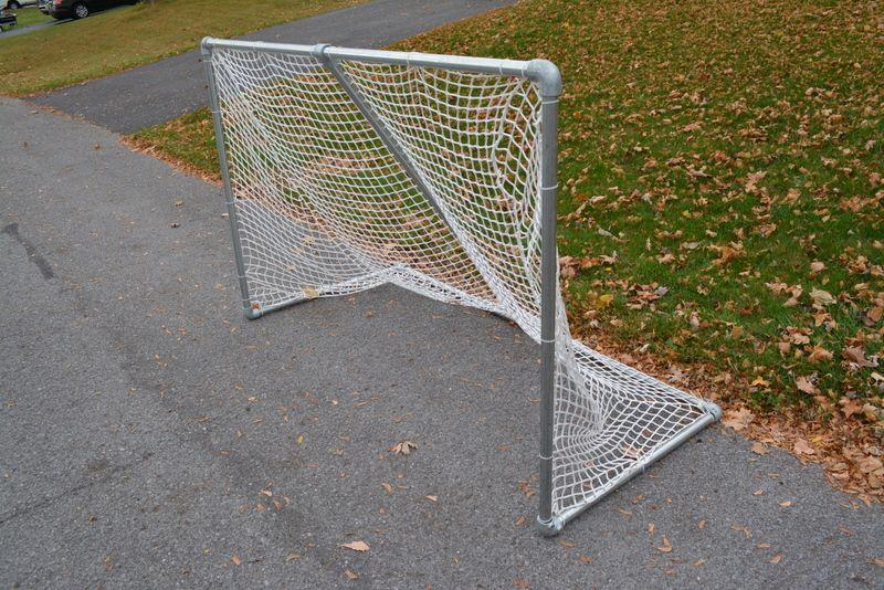 Build a Steel Hockey Goal Complete DIY Plans Hockey