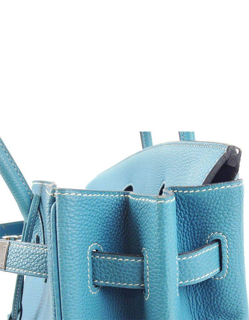 2143514c7d Hermès Blue Jean 35CM Birkin Togo Leather Bag