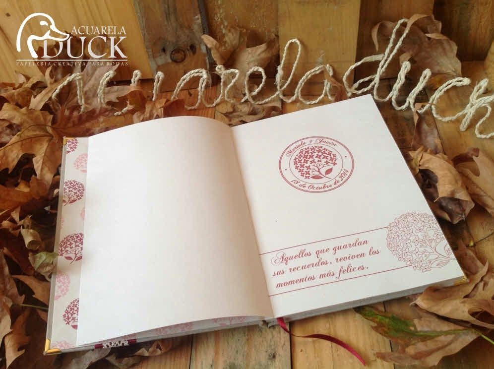 Detalles de una Boda: Libro de firmas