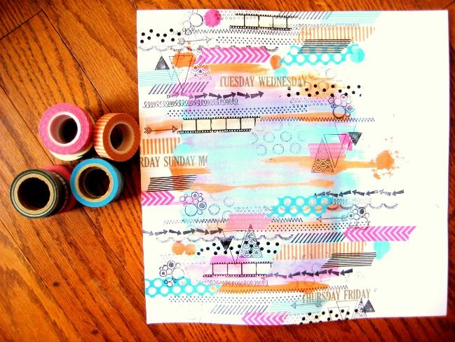 paper: Messy Mood:: A Scrapbook Tutorial by Missy