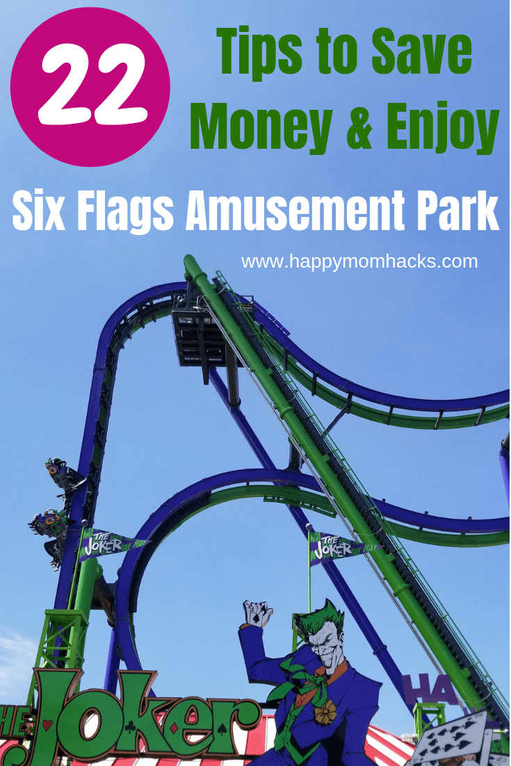 Six Flags Great America Ultimate Family Guide Great America Six Flags Six Flags Great Adventure