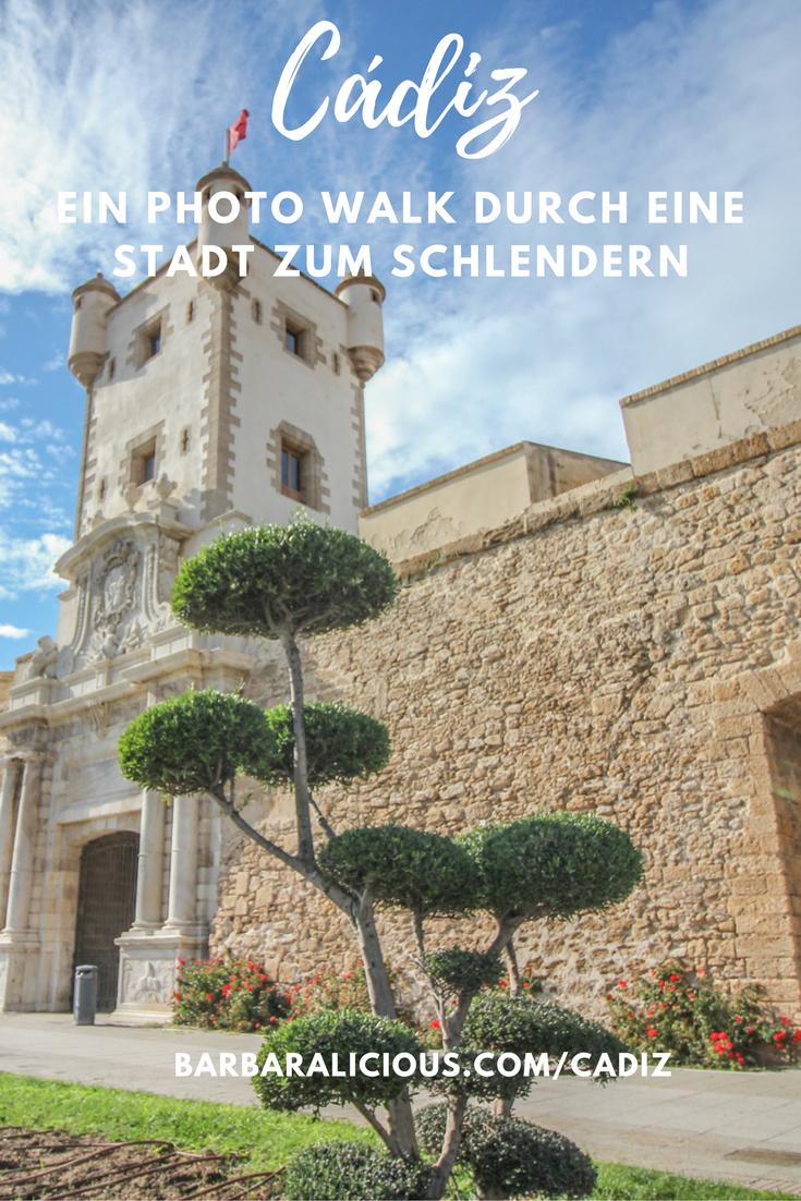 Lass mich dich in die andalusische Stadt Cadiz auf einen Photo Walk mitnehmen. Gedankenverloren schlendern wir durch die Stadt!