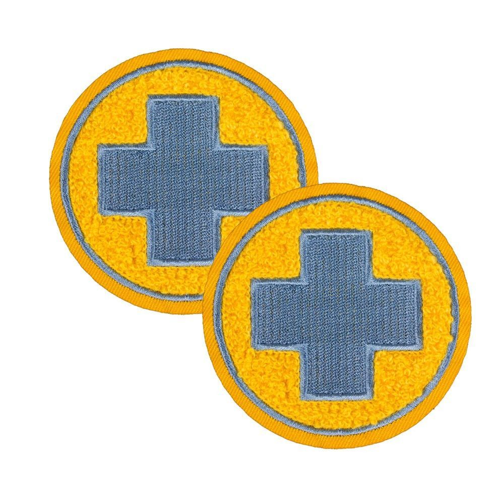 Team Fortress 2 Medic Patches Set Of 2 Team Blu Team Fortress