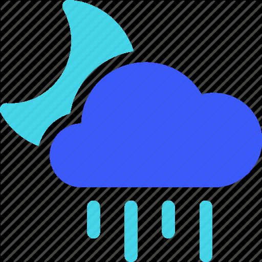 25px Iconspace Night Rainy Icon Download On Iconfinder Icon Rainy All Icon